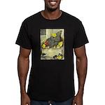 Mother Hen Men's Fitted T-Shirt (dark)