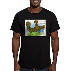 Golden Polish Fowl Men's Fitted T-Shirt (dark)