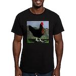 Sex-link Hen Men's Fitted T-Shirt (dark)