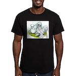 Sultan Bantam Chickens Men's Fitted T-Shirt (dark)