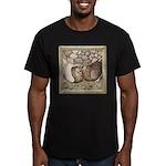 Stone Homer Pigeons Men's Fitted T-Shirt (dark)