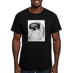 Helmet Shortface Pigeon Men's Fitted T-Shirt (dark