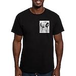 Budapest Shortface Pigeon Men's Fitted T-Shirt (da