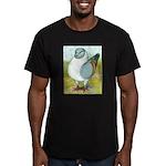 Gazzi Modena Pigeon Men's Fitted T-Shirt (dark)