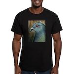 Homer Head Men's Fitted T-Shirt (dark)