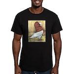 Red Komorner Tumbler Men's Fitted T-Shirt (dark)
