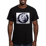 Earth Homer Pigeon Men's Fitted T-Shirt (dark)