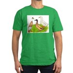 Egg and Meat Ducks Men's Fitted T-Shirt (dark)