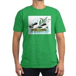 Magpie Drake and Duck Men's Fitted T-Shirt (dark)