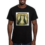 Black Runner Pair Men's Fitted T-Shirt (dark)