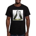 Black Runner Ducks Men's Fitted T-Shirt (dark)