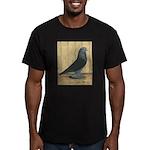 Blue Velvet West Men's Fitted T-Shirt (dark)
