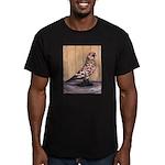 Tortoiseshell West Men's Fitted T-Shirt (dark)