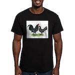 Mottle OE Pair Men's Fitted T-Shirt (dark)