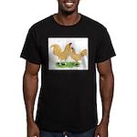 Buff OE Bantams Men's Fitted T-Shirt (dark)