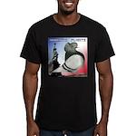 Liberty Flight Pigeon Men's Fitted T-Shirt (dark)