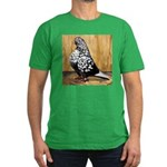 Black Teager Flight Men's Fitted T-Shirt (dark)