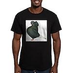 Dun Cap Flight Men's Fitted T-Shirt (dark)