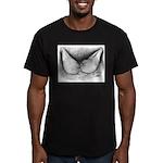 Yellow Flight Pair Men's Fitted T-Shirt (dark)