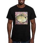 Snowy Mallard Duckling Men's Fitted T-Shirt (dark)