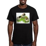 Brown Brabanter Chicks Men's Fitted T-Shirt (dark)