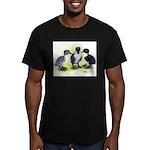 Swedish Duck Ducklings Men's Fitted T-Shirt (dark)