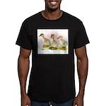 Buff Ducklings Men's Fitted T-Shirt (dark)