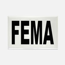 FEMA Rectangle Magnet