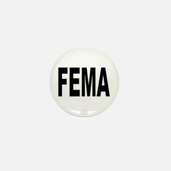 FEMA Mini Button