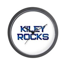 kiley rocks Wall Clock