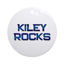 kiley rocks Ornament (Round)