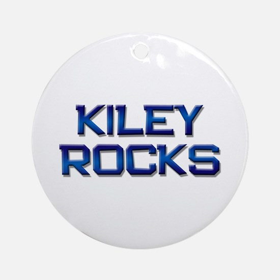 kiley rocks Ornament (Round)