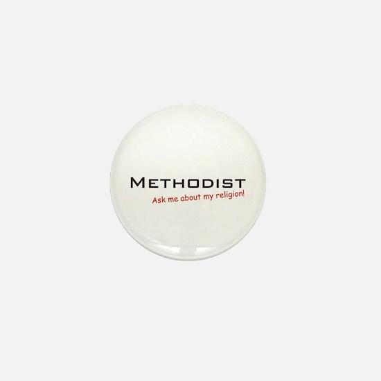 Methodist / Ask Mini Button