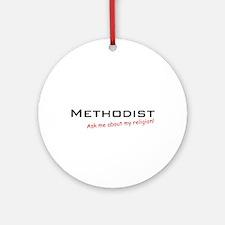 Methodist / Ask Ornament (Round)