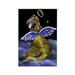 Almost Heaven Angel Rectangle Magnet (10 pack)