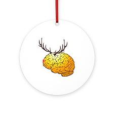 Braindeer Ornament (Round)