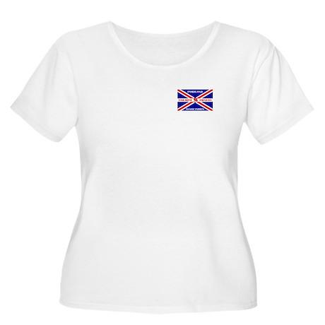 PTOA Women's Plus Size Scoop Neck T-Shirt