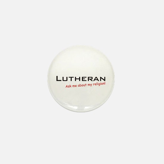 Lutheran / Ask Mini Button