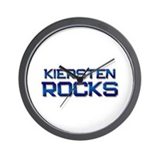 kiersten rocks Wall Clock