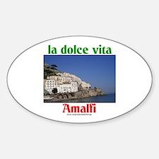 la dolce vita Amalfi Oval Decal