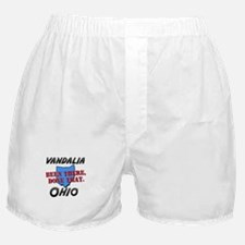 vandalia ohio - been there, done that Boxer Shorts