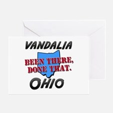 vandalia ohio - been there, done that Greeting Car