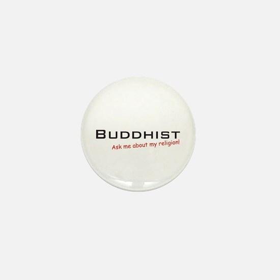 Buddhist / Ask Mini Button