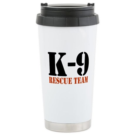 K-9 Rescue Team Stainless Steel Travel Mug
