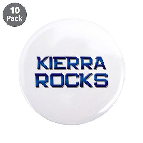 """kierra rocks 3.5"""" Button (10 pack)"""