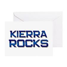 kierra rocks Greeting Card