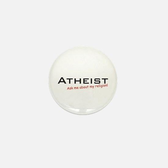 Atheist / Ask Mini Button