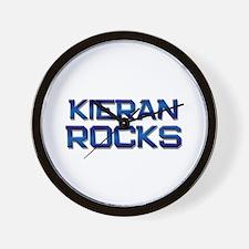 kieran rocks Wall Clock