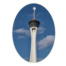 Stratosphere Vegas - Holiday Ornament Oval