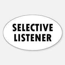 Selective Listener Decal